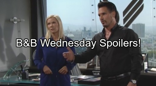 'The Bold and the Beautiful' Spoilers: Steffy Erupts Over Quinn – Ridge Tells Bill Affair With Brooke Affair Ends Now