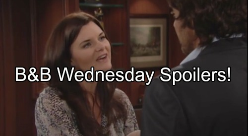 'The Bold and the Beautiful' Spoilers: Ridge Threatens Quinn to Steer Clear of Eric – Bill Asks Brooke to Betray Katie