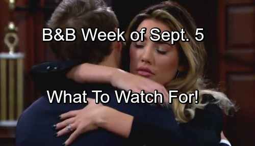 'The Bold and the Beautiful' Spoilers: Week of September 5 – Battle Preparations, Fierce Faceoffs and Desperate Measures