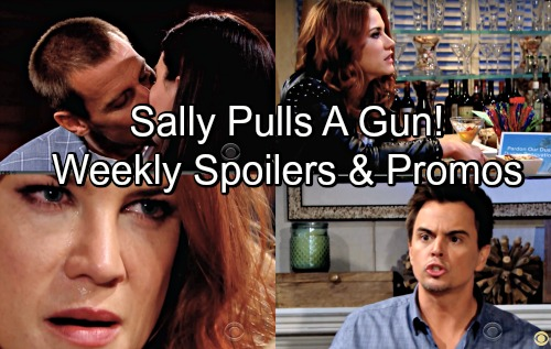 The Bold and the Beautiful Spoilers: Week of June 11 – Sally Pulls a Gun on Wyatt – Xander Crushes on Emma - Thorne Gets Katie