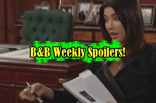 'The Bold and The Beautiful' Spoilers: Week of Dec. 26 – Ivy Catches Ridge With Quinn – Steffy Moves Out - Bill Won't Back Down