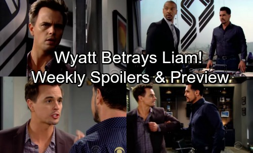 The Bold and the Beautiful Spoilers: Week of May 14 – Wyatt Discovers Bill's Cruel Plot, Faces Bribes and Threats - Weekly Promo
