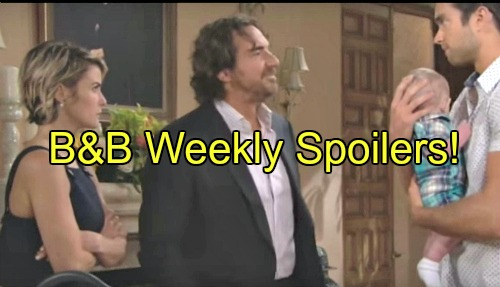 'The Bold and The Beautiful' Spoilers: Week of June 27 – Thomas Wants Caroline, Ridge Turns to Brooke – Steffy Banishes Quinn