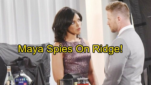 The Bold and the Beautiful Spoilers: Maya Seeks Ammunition for Rick and Thorne – Spy Proves Helpful as Team Destroys Ridge