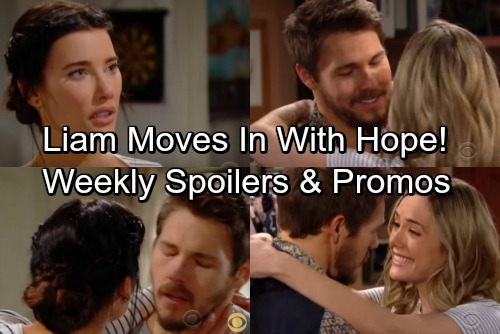 The Bold and the Beautiful Spoilers: Week of April 23 Promo Video – Rejected Steffy Fumes as Liam Moves In with Hope