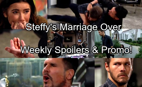 The Bold and the Beautiful Spoilers: Week of Jan. 1 Update - Liam Abandons Steffy After Full Confession, Bloody Battle With Bill