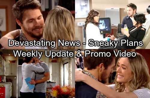 The Bold and the Beautiful Spoilers: Week of April 23-27 – Devastating News, Sneaky Plans and Fierce Confrontations