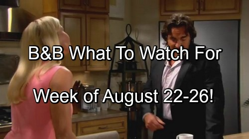 'The Bold and the Beautiful' Spoilers August 22 - 26: Panicked Wyatt Watches Steffy Slip Away - Ridge Two-Time Loser