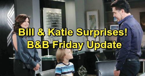 The Bold and the Beautiful Spoilers: Friday, March 29 Update – Batie Surprises Include Special Guest – Brooke Fights Taylor's Plan