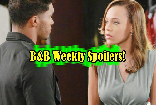 The Bold and The Beautiful Spoilers: Week of Feb 13 - Nicole and Zende Marriage, Spectra Gang Crashes Wedding - Quinn-Ridge Flirting
