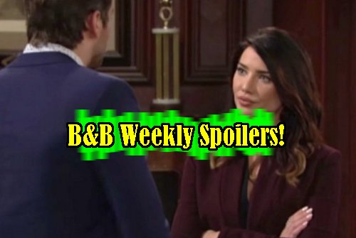 The Bold and The Beautiful Spoilers: Week of February 20 - Ivy Confronts Quinn - Bill Plots to Crush Sally - Steffy Angers Thomas