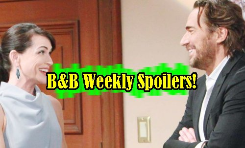 'The Bold and The Beautiful' – Week of January 9 – Ridge Falling for Quinn – Eric Tempts Steffy – Bill Woos Brooke - Liam Snaps