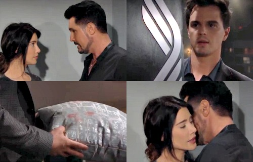 The Bold and the Beautiful Spoilers: Liam Confronts Steffy About Continued Betrayal – Bill's Deception Brings Brutal End to Steam