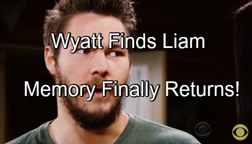 The Bold and the Beautiful (B&B) Spoilers: Wyatt Stunned to Find Liam at Quinn's C