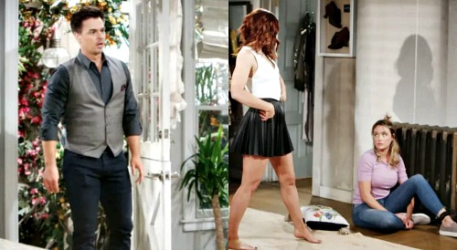 The Bold and the Beautiful Spoilers: Prisoner Flo Awakens - Works With Penny To Discourage Sally's Desperate Pregnancy Plan