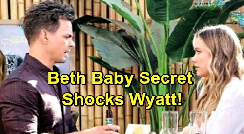 The Bold And The Beautiful Spoilers Wyatt Rocked By Baby Beth