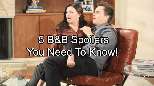 5 The Bold And The Beautiful Spoilers You Need To Know