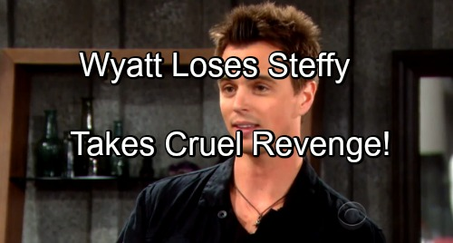 'The Bold and the Beautiful' Spoilers: Wyatt Turns Dark After Losing Steffy – Channels Crazy Quinn for Twisted Revenge