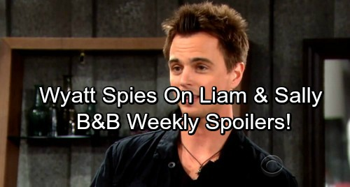 The Bold and the Beautiful Spoilers: Week of September 25 - Wyatt Spies On Sally and Liam - Eric Forgives Ridge