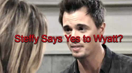 The Bold and the Beautiful (B&B) Spoilers: Steffy Says Yes to Wyatt's Proposal - March Madness Wedding Surprise