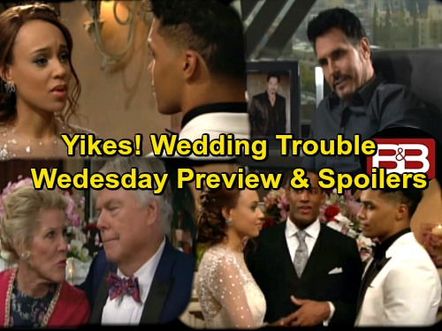 The Bold and the Beautiful Spoilers: Sally and Shirley Draw Suspicion, Trouble Explodes at Wedding