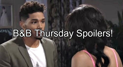 The Bold and the Beautiful (B&B) Spoilers: Zende Explodes Over Sasha's Pregnancy – Brooke Hides When Caught with Shirtless Bill