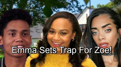The Bold and the Beautiful Spoilers: Emma Takes a Crazy Turn, Sneaky Barber Blood Proves Useful – Dangerous Trap Set for Zoe