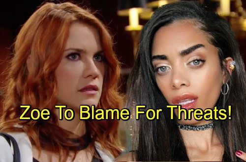 The Bold and the Beautiful Spoilers: Sally's Shocking Discovery, Zoe to Blame for Online Threats to Hope – Big Twist to Mystery