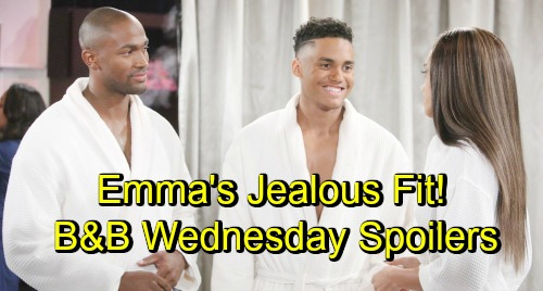 The Bold and the Beautiful Spoilers: Wednesday, November 7 - Ridge and Bill Tear Brooke Apart - Emma's Jealous Fit