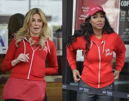 Brandi Glanville and Kenya Moore Celebrity Apprentice 2015 Blow-Up Fight Due To Explode