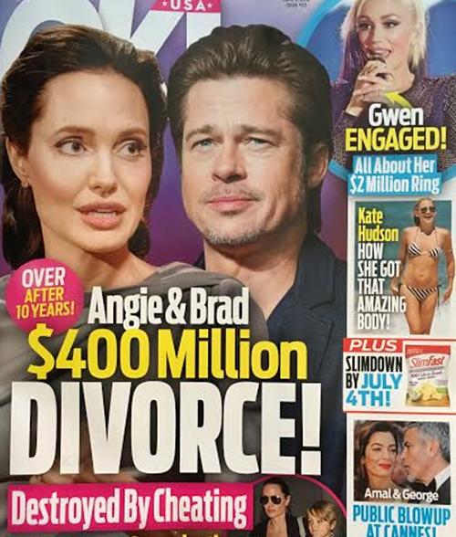 Angelina Jolie And Brad Pitt $400 Million Divorce: Angie Jealous Of Marion Cotillard - Brad's New Co-Star Splits Up Brangelina?