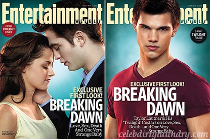 Entertainment Weekly's Breaking Dawn Magazine Covers (Photos)