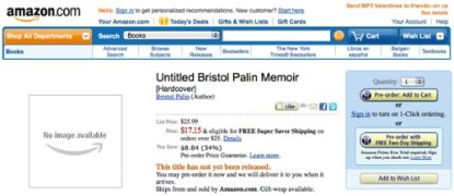 Bristol Palin To Cash In With Her Own Book