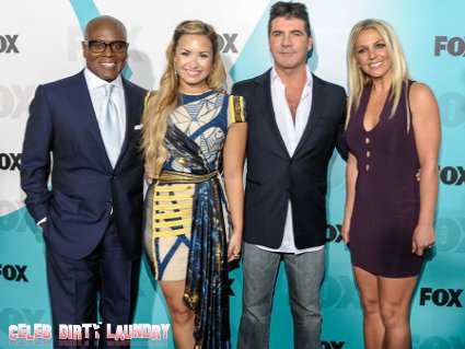 Britney Spears Walks Off The 'X-Factor' In Absolute Disgust
