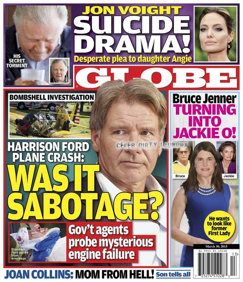 GLOBE: Bruce Jenner Turning Into Jackie O - Wants To Look Like Former First Lady? (PHOTO)