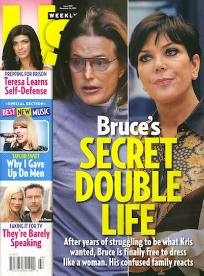 Bruce Jenner is Becoming a Woman: Kris Jenner Spills on Bruce's Transgender Cross-Dressing Secret Double Life (PHOTO)
