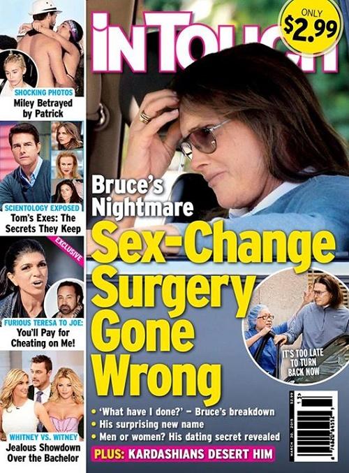 Shocking sex change