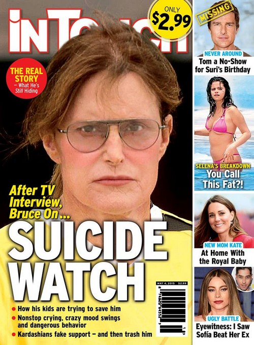 Bruce Jenner On Suicide Watch After Diane Sawyer TV Interview? (PHOTO)