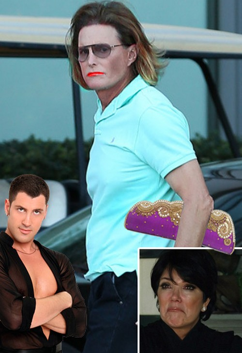 Bruce Jenner Comes Out As A Woman and Shares Clothes and Butt Implants With Kim Kardashian - Kris Jenner Furious?