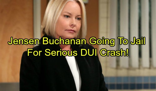 The Young and the Restless and General Hospital Star Jensen Buchanan Sentenced to Jail in DUI Car Crash Case