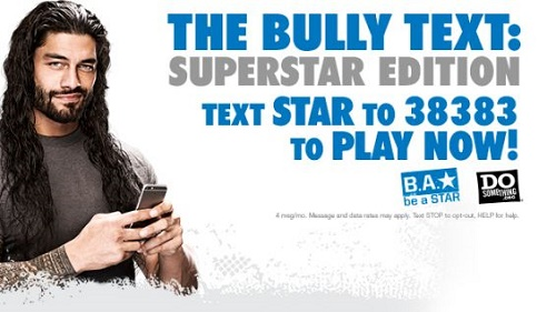 WWE & DoSomething.org Team Up To Fight Teen Bullying: The Bully Text Campaign Unites Thousands Around Anti-Bullying Initiatives!