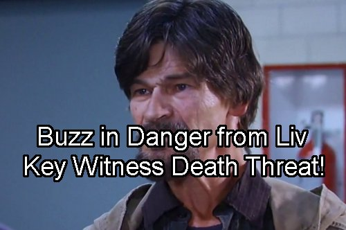 General Hospital Spoilers: Buzz's Life on Line With Car Bomb Testimony – Rudge and Liv Target Sole Witness for Death