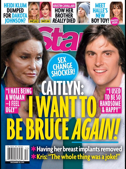 Is Caitlyn Jenner Transitioning Back To Male - Wants To Be Bruce Again?