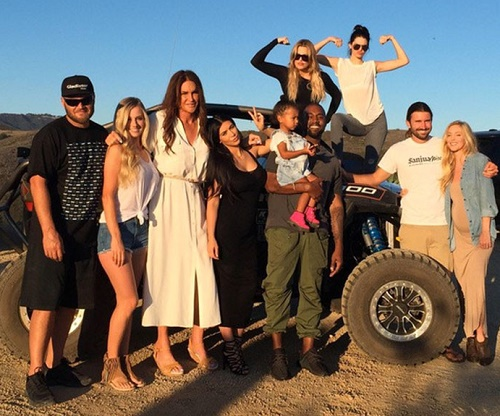 Kim Kardashian And Kanye West Spend Father's Day With Caitlyn Jenner: Kimye Desperate For Attention, Caitlyn Stole The Spotlight