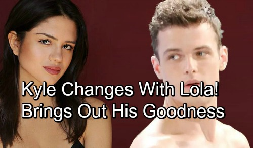 The Young and the Restless Spoilers: Kyle's New Romance With Lola - Will Lola Bring Out The Good In Kyle?