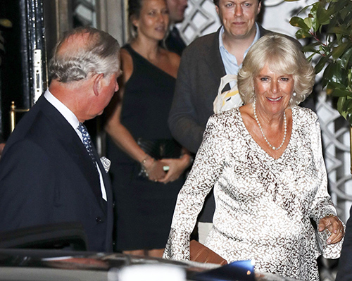 Prince Charles Furious: Camilla Parker-Bowles Attends Son Tom Parker-Bowles Cookbook Launch With Ex-Husband