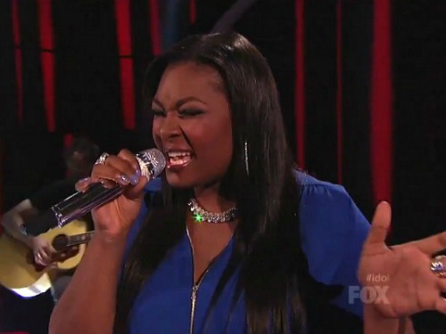 American Idol's Candice Glover Getting Personality Training At Mariah Carey's Suggestion