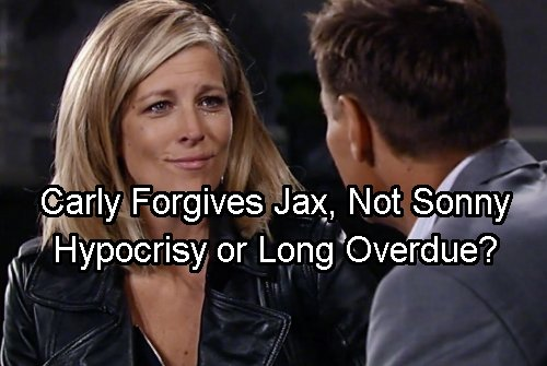 General Hospital Spoilers: Carly Forgives Jax But Not Sonny – Unfair To Corinthos or What He Deserves?