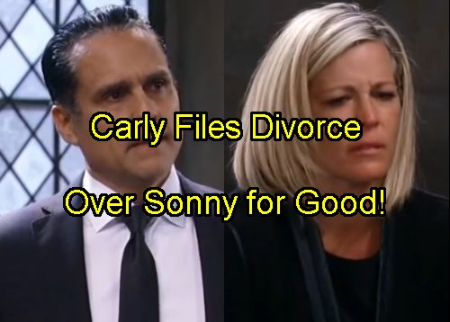 'General Hospital' Spoilers: Carly Divorces Sonny - Doesn't Care He's Innocent – Jax Sticks Around?
