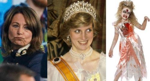Kate Middleton's mum slammed for selling zombie princess costume